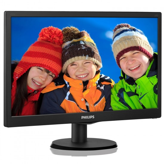 Philips 18,5'' 193V5LSB2/62 5MS Siyah Led Monitör